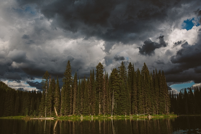 landscape photography Fernie, BC, storm clouds, dramatic skies
